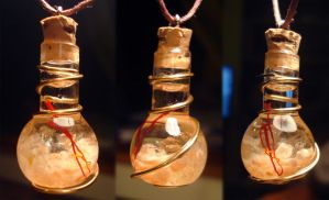 Magic Vial - Sol Pendant by Izile