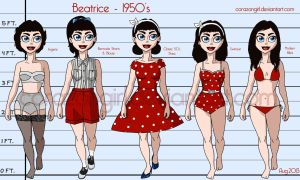 Beatrice Outfits by corazongirl