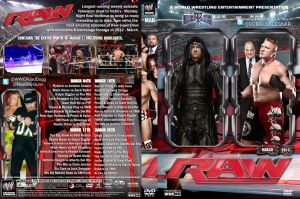 WWE Raw March 2013 DVD Cover by Chirantha