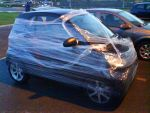 Cling Film Car by almighty-duck
