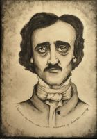 Edgar Allan Poe by frida93