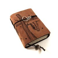 Dali, leather journal by kreativlink
