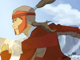 LOK: Firebending Exam by IslandWriter