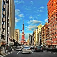Tokyo Tower by fkendi