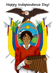 [HETAOC] Ecuador's Independence Day! by melonstyle