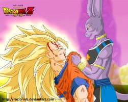 DBZ Battle of Gods by rocio-mb