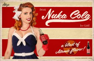 Nuka-Cola Pinup by Princess-Akiyara