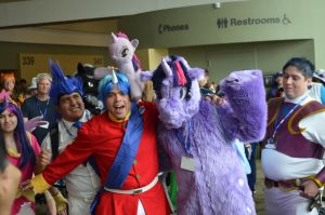 BronyCon 2013 - BBBFF + Twili by AleriaVilrath