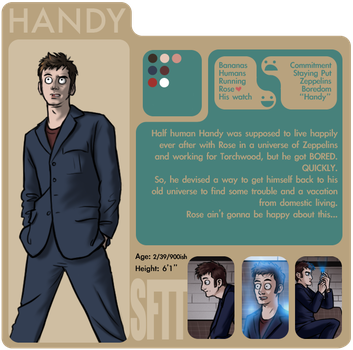 SftT: Handy by Girl-on-the-Moon