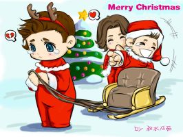 SPN-merry christmas by autumn-water