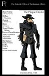 FOPA Files - The Plague Doctor by ShadetheMystic