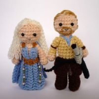 Dany and Jorah by LunasCrafts