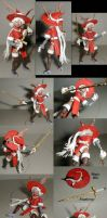 Viera Red Mage action figure by kramwartap