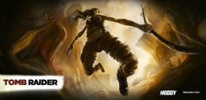 2nd entry for tomb raider reborn contest by earthwormnistic