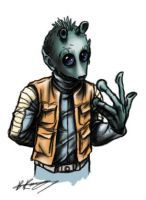 Greedo Sketch by Quickman012