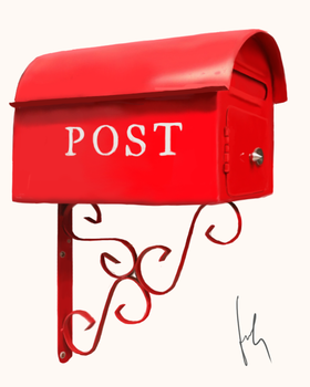 Postbox by cheesylily02