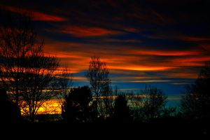 Sunset Stripes by Delta406