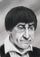 Patrick Troughton 4 by Hokutochan15