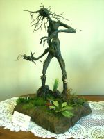Wood Woman by minds-eye-creation