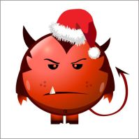 DEVIL CHRISTMAS BALL by oscaraxl