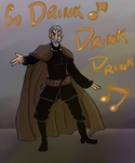 Count Dooku Sings by Doofapus
