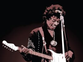 The Late Great Jimi Hendrix by garrett-btm
