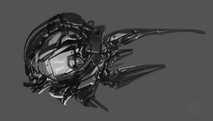 mechanical fish by Putrenko