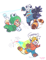 Power ups! by super-tuler