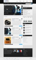 Insthink blog template by baxxspace