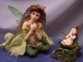 Pregnant Fairy 2 by mistweaversrealm