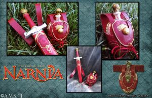 Narnia: Lucy's Gifts by Archer-AMS