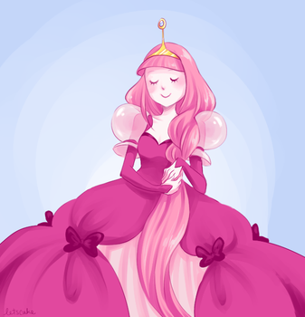 Princess Bubblegum by sillyapple