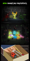 Neon-Changeling Consequences by UltraTheHedgetoaster