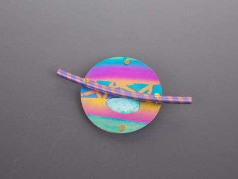 Saturn pin by tqween