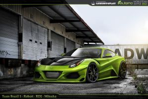 WTB' 12 R1 - Ferrari Berlinetta F12 by RDJDesign