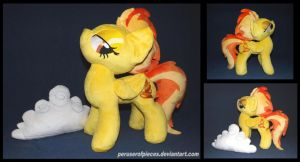 Spitfire with Cloud by Peruserofpieces