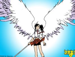 Setsuna Angel Wings by shaoron