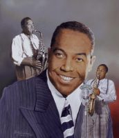 'Bird' Charlie Parker by Paluso4art
