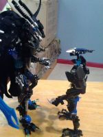 Lotrax see the true form of his dad by predaking397