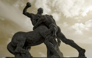 Fight of Heracles
