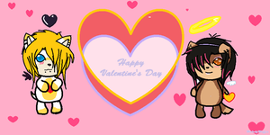 Valentine's day card by MelodyMuffin