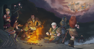 Diablo 3 Illustration Contest - Late to the party by Pehesse