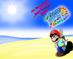 My Top 5 Mario Games - #4 Super Mario Sunshine by Siontix