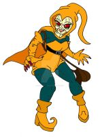 Gender Bender Female Hobgoblin by kaoshoneybun