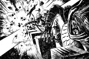 TEUTON Vol.3 - A Devastating Blow by ADAMshoots