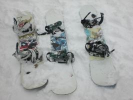 Our Snowboards by ironbondio