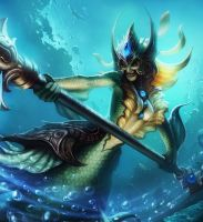 Nami League of Draven! by armice