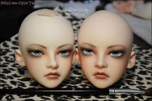 Face-up: Dollstown Elysia Twins by asainemuri
