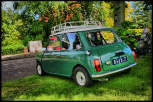 1969 Austin Seven  1000 by compaan-art