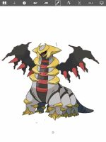 Giratina by TheRebirthOfVaati
